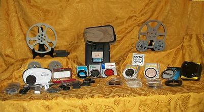 Large Lot Of Lenses/Filters & Accesorries For Film Cameras