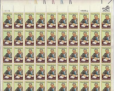 USA-United States 1981 15c Postage Whitney More Young Jr Sheet Scot 1865 MNH.