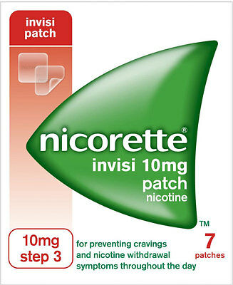 Nicorette Nicotine 10mg Invisible Patches Step 3 (7)