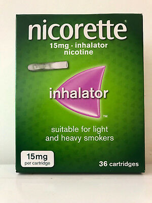 Nicorette Inhalator 15mg Cartridges (36)