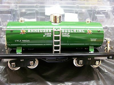 Lionel Lines Corporation MTH Tinplate  # No. 515 Std. Anheuser Busch Oil Car NEW