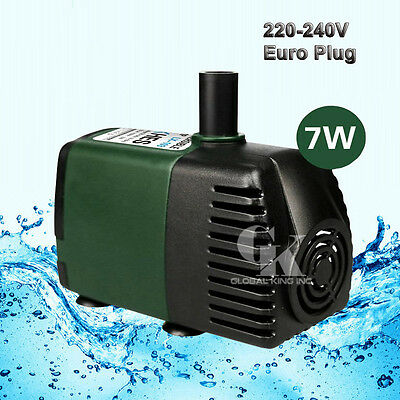 220V, 750L/H Submersible Pump Aquarium Fish Tank Fountain Water Hydroponic