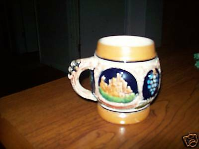 Rare Antique Vintage 1940 Luster Wear Germany Cup Mug Fathers Day Gift