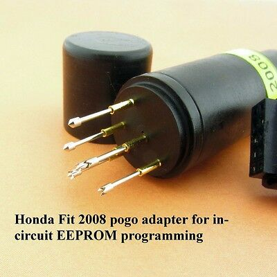 Honda Fit 2008 pogo adapter for in-circuit EEPROM programming