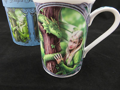 "Anne Stokes ""Kindred Spirits"" Dragon Mug, Gift Boxed Wonderful Gift Idea!"