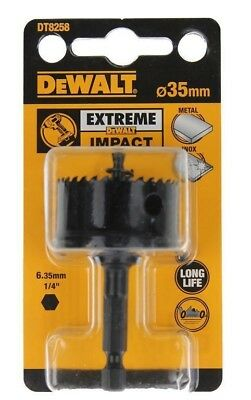 DeWALT Extreme Impact 35mm Hole Saw DT8258