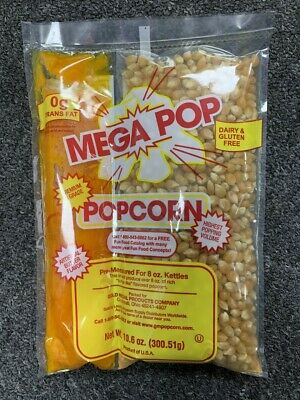 Great Western All in One Theatre Quality Popcorn Packets 10.6 oz.