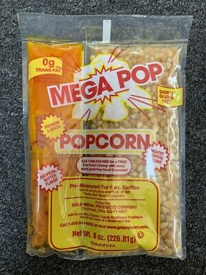 Great Western All in One Theatre Quality Popcorn Packets 8 oz.