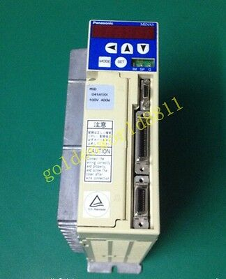 Panasonic MSD041A1XX AC Servo Driver good in condition for industry use