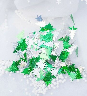 Christmas Tree 14g Table Sequin Confetti Metallic