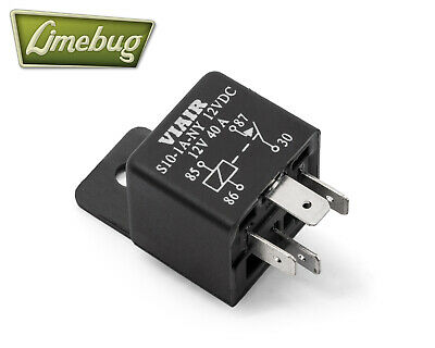 Viair Compressor Relay 4 Pin 40 Amp 12V Air Ride System Airlift High Current