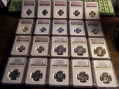 3-Ngc Graded Coins-Mixed Box Of Silver-1 Buy=3 Slabs Randomly Pulled From Box