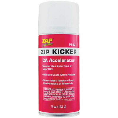 The Install Bay PT-50 Zip Kicker CA Glue Adhesive Accelerator Aerosol 5 Ounces