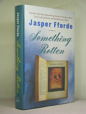 1st, signed by author, Thursday Next 4: Something Rotten by Jasper Fforde (2004)