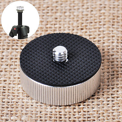 """Metal Adapter conversion Screw 3/8"""" female to 1/4"""" male for Tripod Head Silver"""