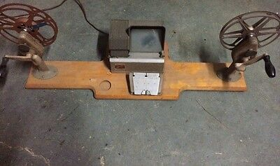 Vintage Craig Projecto editor with hollywood automat film splicer