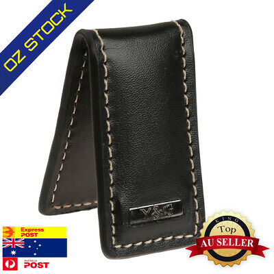 MC3014 Black Artificial Leather Money Clips For Men Fantastic Design By Y&G