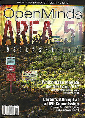 Open Minds UFOS and EXTRATERRESTRIAL LIFE  Area 51 Declassified President Carter