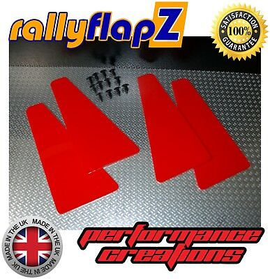 Custom MINI Splash Guards SUBARU IMPREZA Classic(93-01) rallyflapZ 4mm PVC Red
