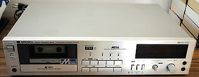 OPTONICA (SHARP) STEREO CASSETTE DECK / COMPUTER CONTROL RT-105 : Fonctionne