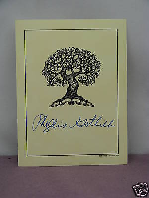 bookplate signed by Canadian author Phyllis Gotlieb (born 1926 - died 2009)
