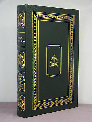1st, signed, Name-Dropping: From FDR On by John Kenneth Galbraith, Easton Press