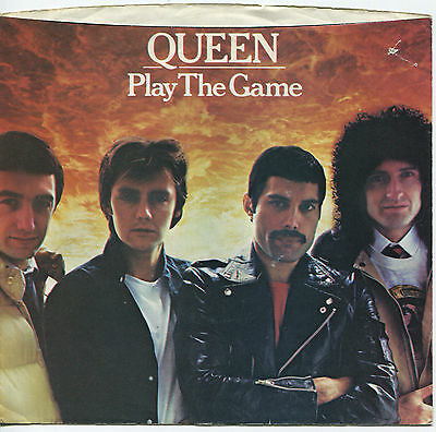QUEEN (Play The Game / A Human Body)  45 RPM PICTURE SLEEVE (ROCK)