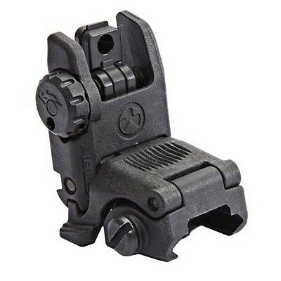 Magpul MBUS Gen2 Rear Black Flip / Pop Up Backup Sight MAG248-BLK BUIS