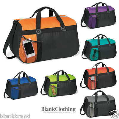 Plain Sports Duffle Bag | Overnight Carry Sports Gym Travel Bags | 29L