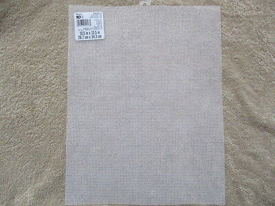 """5 Sheets of 10 Count Plastic Canvas  size 13.5"""" x 10.5"""""""