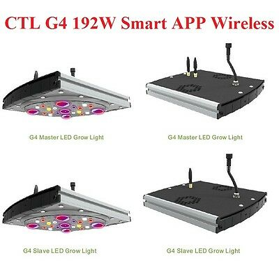 CTLite G4 192W Led Grow Plant Light WLAN WIFI Control Pflanzenlampe Hydroponics
