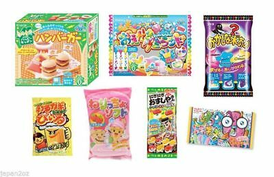 7 PIECE DIY JAPANESE CANDY SET - Popin Cookin & Other Candy & Sweets, Drink, Gum