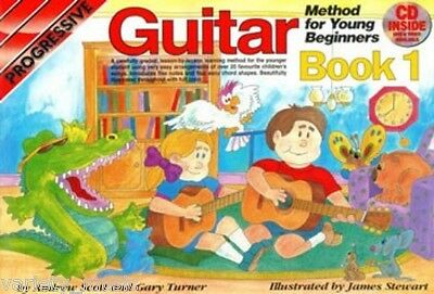 Progressive Guitar Method for Young Beginners: Book 1 includes Cd