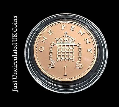 Proof One Pence Coins 1p 1971 - 2019 Various Years - Royal Mint