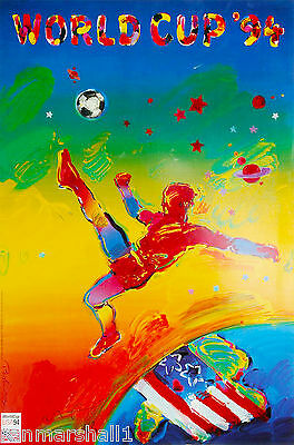 1994 World Cup Soccer Football United States Sports Travel Advertisement Poster