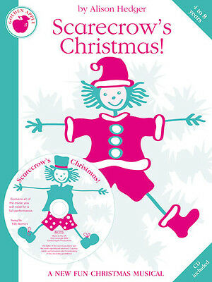 Alison Hedger: Scarecrow's Christmas! (Teacher's Book/CD) Piano, Vocal & Guitar