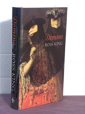 1st, signed by author, Domino by Ross King (1995) UK true 1st