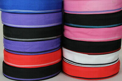 """Polypropylene Webbing 2 COLOUR 10mts 50mm 2"""" Sewing Horse rugs, bag,tents,canvas"""