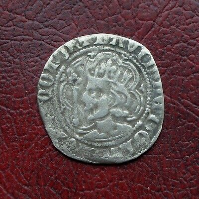 Scotland David II silver half groat