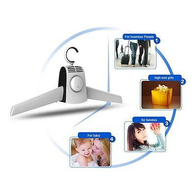 Portable quick Clothes Dryer Hanger Foldable for Business Trip 220V