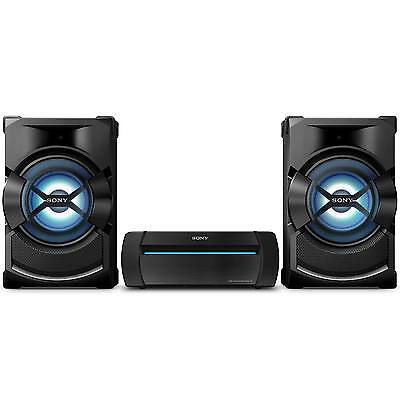 Sony Shake X1D 1200W Home Audio System with Bluetooth NFC CD Player in Black