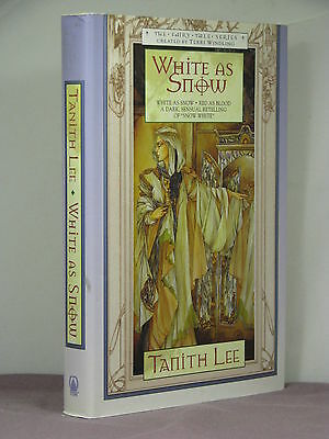 1st, signed by author+series creator, White as Snow by Tanith Lee* (2000)