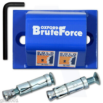 Oxford Brute Force Security Wall Anchor
