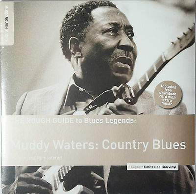 Muddy Waters - Country Blues LP 180g limited edtition NEU/SEALED