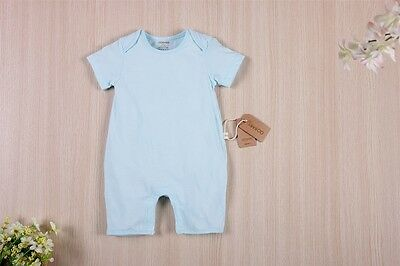 Baby Emmybee Organic Cotton Baby Clothing Short Sleeve Bodysuit Clothes Romper