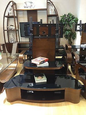 """Universal TV Stand Wooden TV Unit TV Cabinet with Bracket for 32"""" 65"""" Inches"""