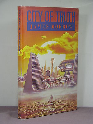 1st US, signed by 2, City of Truth by James Morrow (1992)