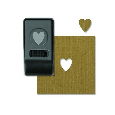 Tim Holtz Sizzix ~ Heart ~ Small Punch ~ 660151