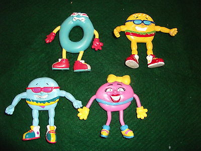 4-Vintage Jack in the Box Bendable Bubbies Toys