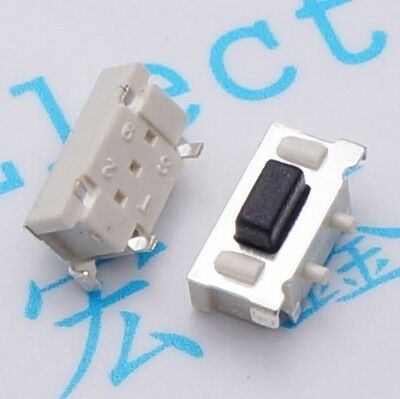 50pcs 3*6*3.5mm Side Switch Momentary Tactile Switch Tact Switch Button Switch